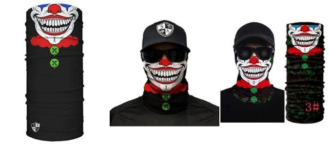 Salt Armour SA Face Shield Sun Mask Neck Gaiter Friends Gifts Lot of 5 Various