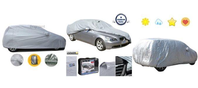Motorlicious Waterproof Car Cover Grey